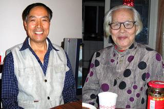 劉さんのお父さんとお婆ちゃん